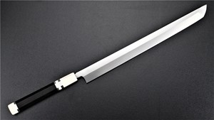 Picture of Akazawa Shiro-Ko Honyaki Sakimaru 300mm (Special No-Brand Engraving Ver.) (Made by Togashi) (SOLD OUT)