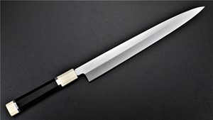 Picture of Akazawa Shiro-Ko honyaki Yanagi 270mm (Special No-Brand Engraving Ver.) (Made by Togashi) (SOLD OUT)