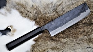 Picture of Akazawa Black Style Chou-Ao Wa-Nakiri 165mm